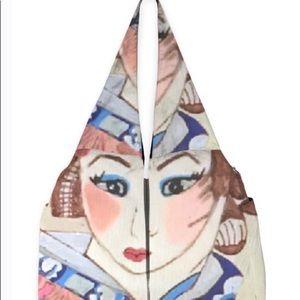 Japanese Geisha Designer Studio Bag